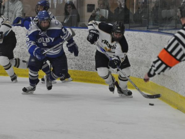 Men's Hockey skates over Colby Mules at home – Trinity Tripod