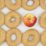 donuts and apple