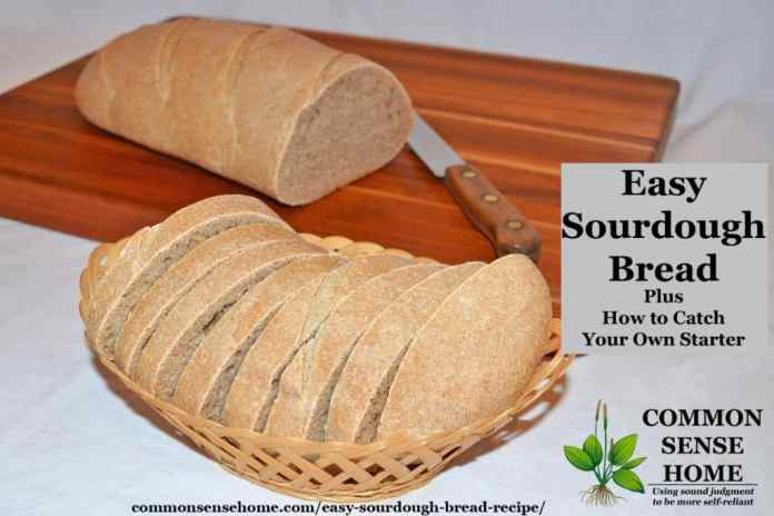 Easy Sourdough Bread Recipe From Starter Plus Sourdough Starter Tips