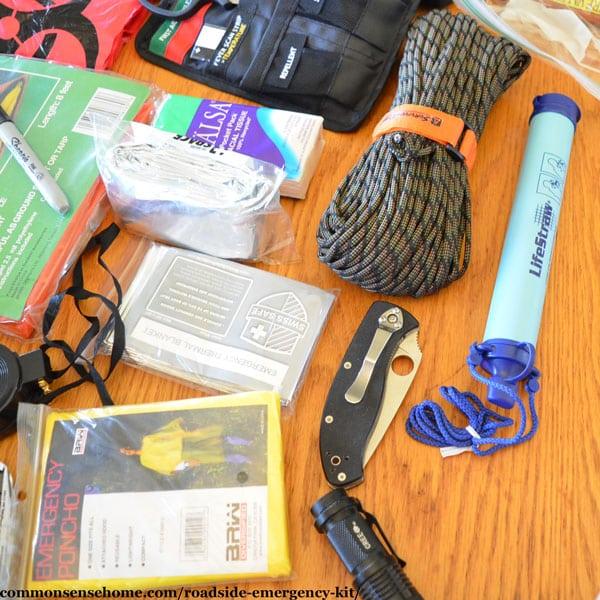 Roadside Emergency Kit Tools
