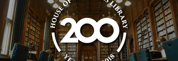 2018: Commons Library celebrates its 200th anniversary