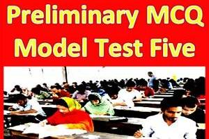 NTRCA Preliminary MCQ Model Test Five