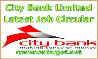 City Bank Latest Job Circular