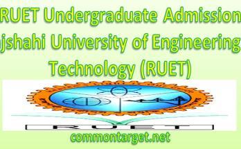 RUET Undergraduate Admission