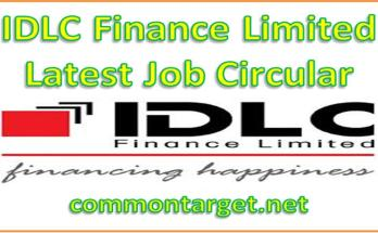 IDLC Finance Limited Job Circular