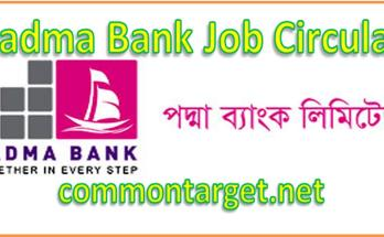 Padma Bank Job Circular 2020