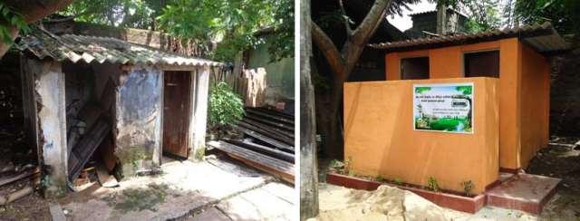 Settlement upgrades in Colombo, Sri Lanka