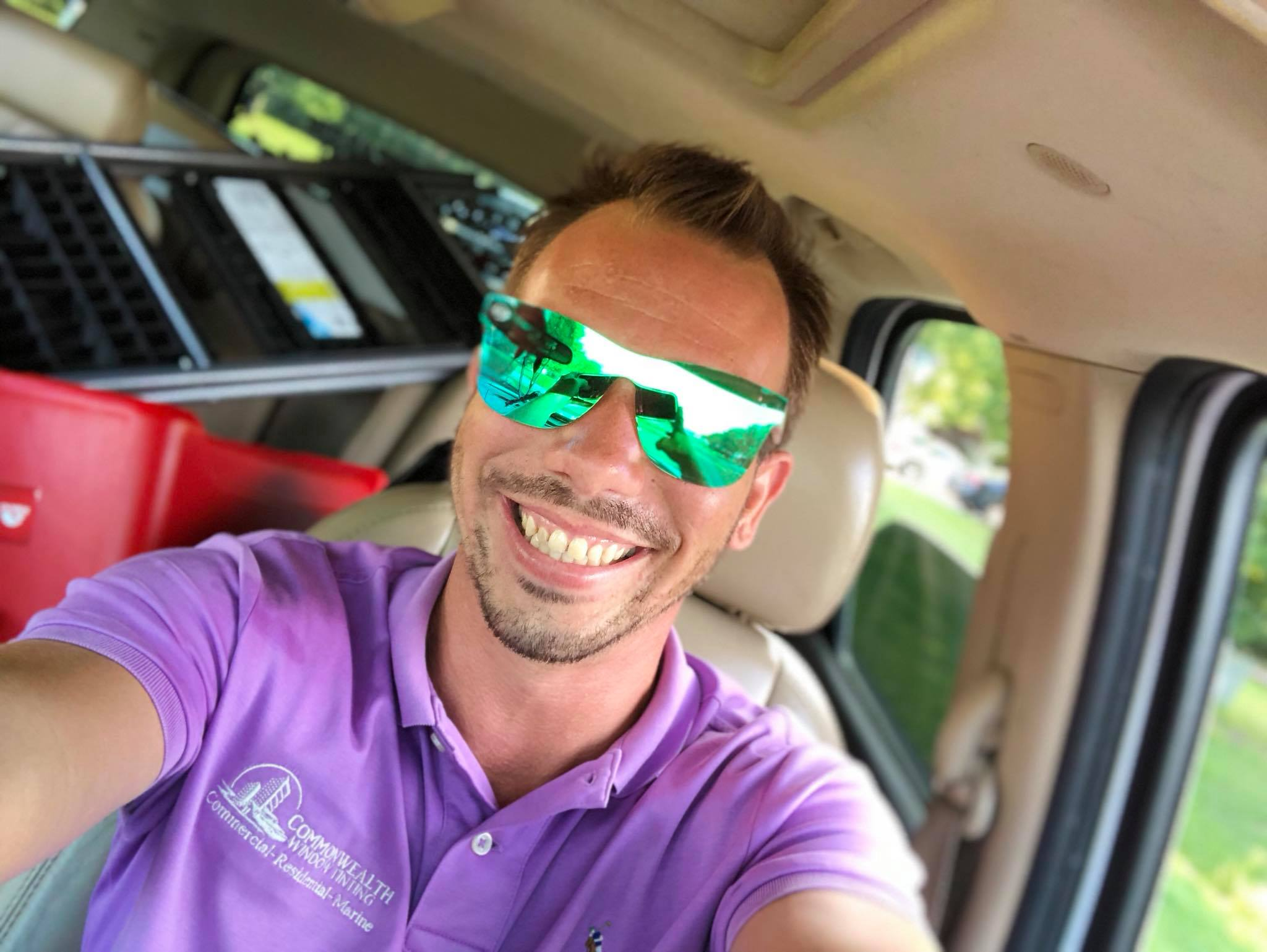 commercial window tinting, stan epps jr sunglasses