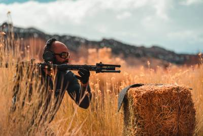 Buck Running the Drill