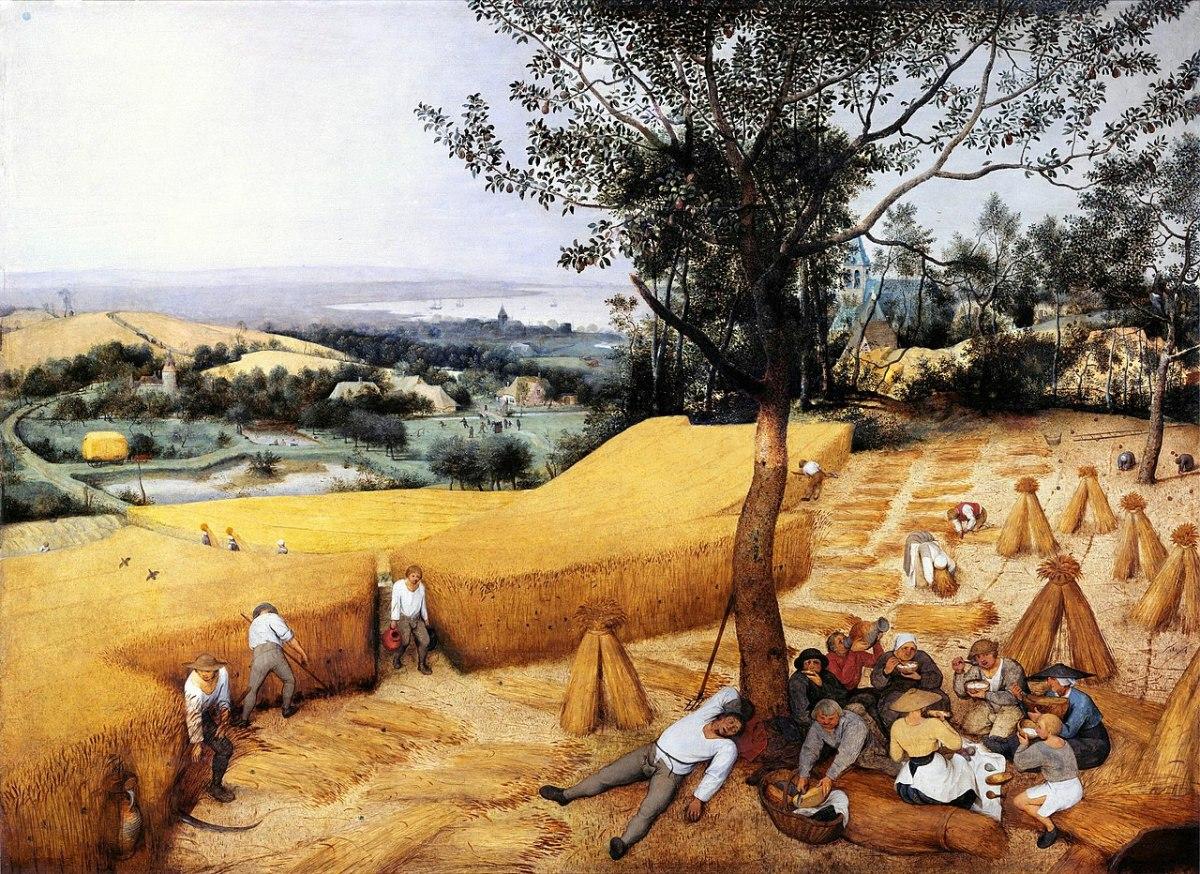 Pieter Bruegel l'ancien, The Harvesters