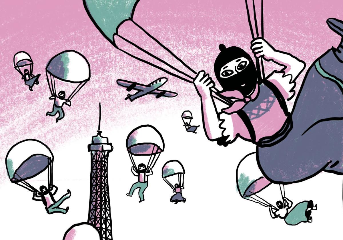 """Bande dessinée sur le """"Voyage zapatiste"""" par Lisa Lugrin"""
