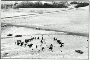 Big Foot Memorial Ride - Green Grass, réserve indienne de Cheyenne River (Dakota du Sud)