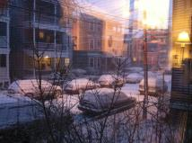 Blizzard 2013 near the beginning