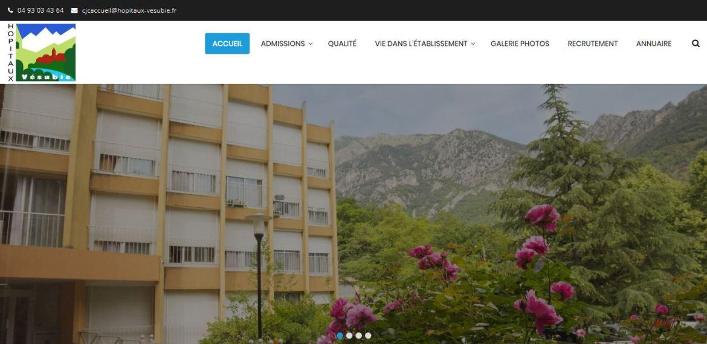Site des Hôpitaux de la Vésubie