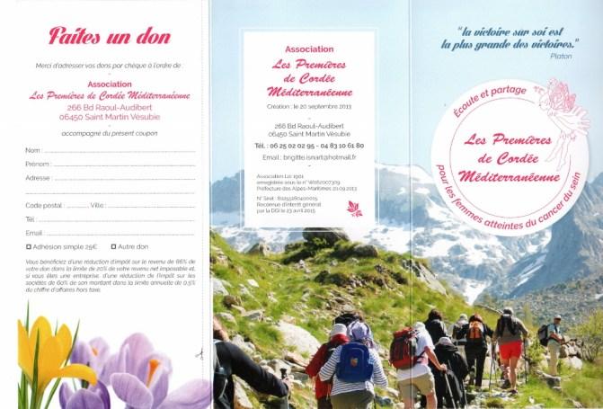 flyer association Les 1eres de cordée recto