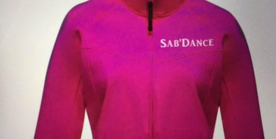 Flocage sur Veste Association Sab'Danse
