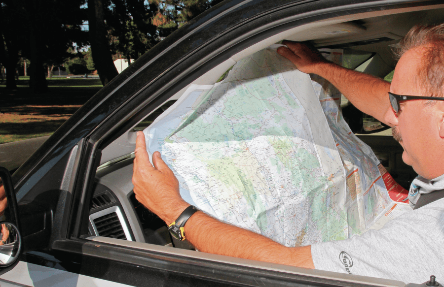 Too many maps and not enough driving    Communication4Health Image