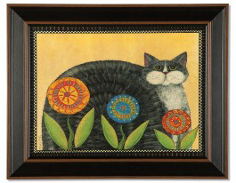 Gray-Penny-Cat-Print