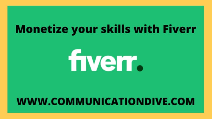 Making money with Fiverr Get your $ today