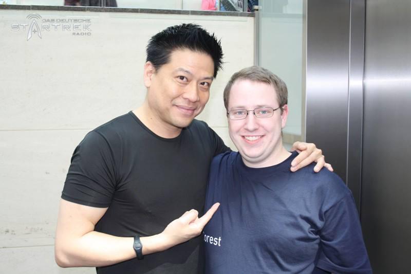 Marc trifft Garret Wang