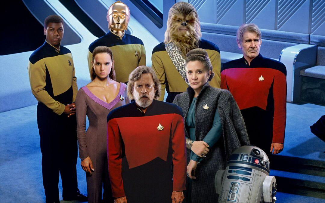 Da schlagen zwei Herzen in meiner Brust: Star Trek und Star Wars