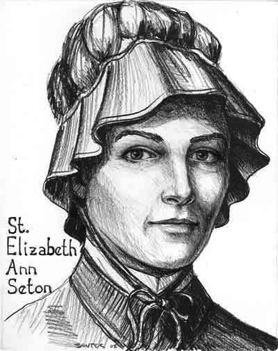 Image result for  Mother Elizabeth Ann Seton