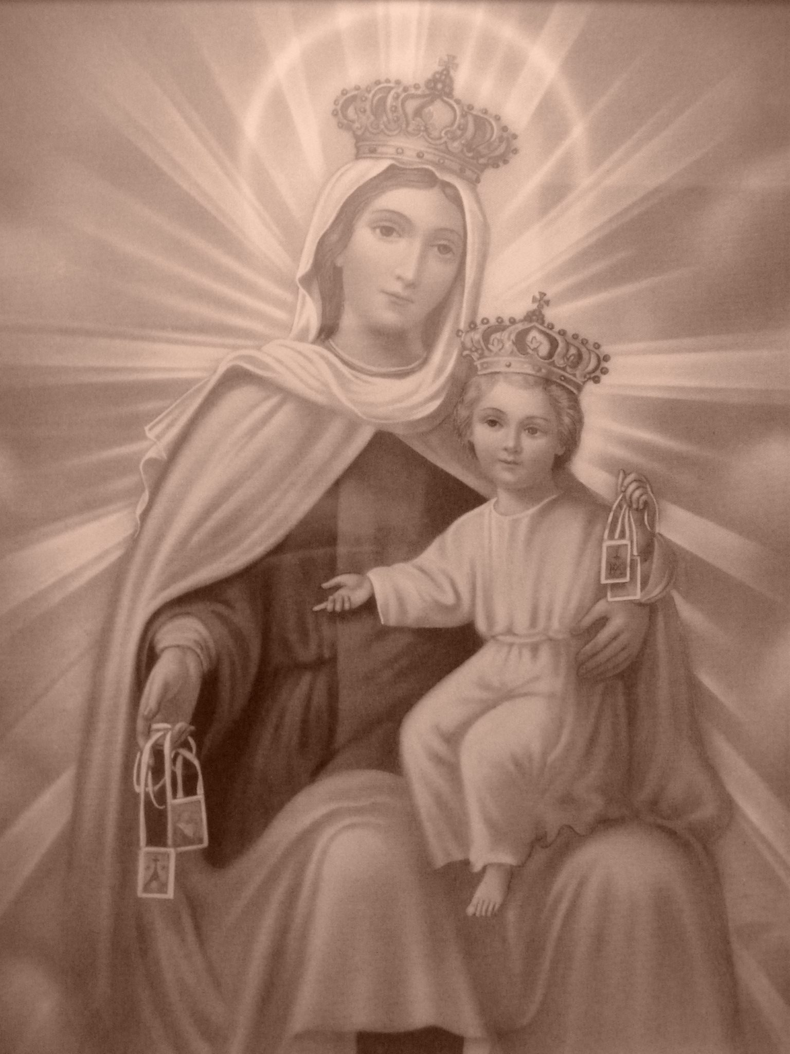 Image result for our lady of mount carmel