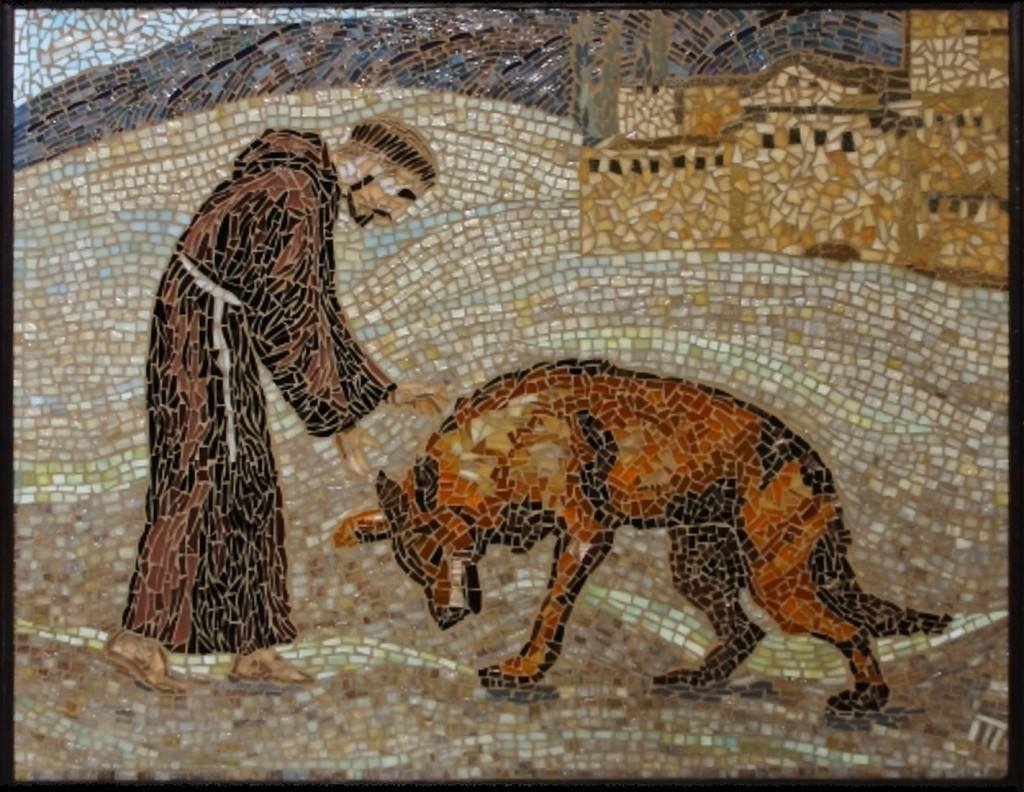 Image result for st francis wolf