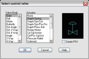 How To Add New Actuators For Control Valves [TN]  AutoPLANT   AXSYS   OpenPlant   PlantWise