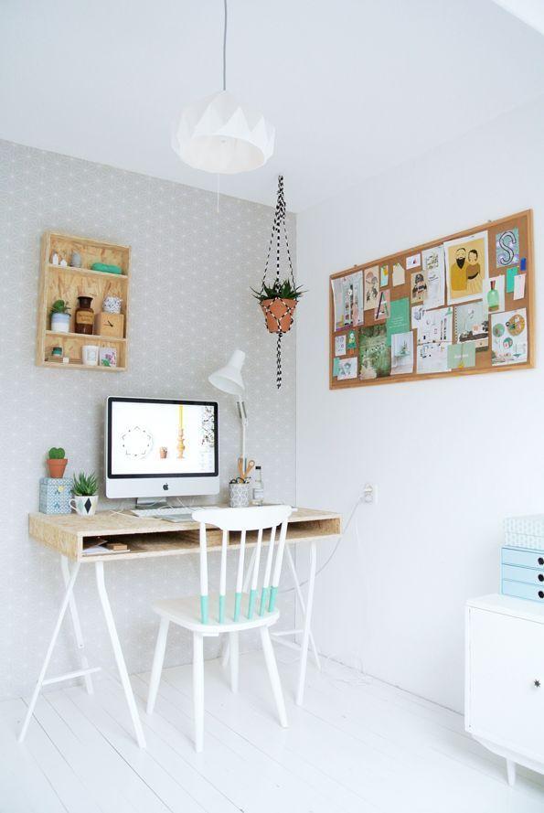 Collaborative Condo Home Office Table Ideas