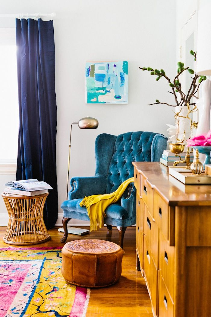 There are many ways to decorate. Big Ideas To Organize Small Condo Living Rooms