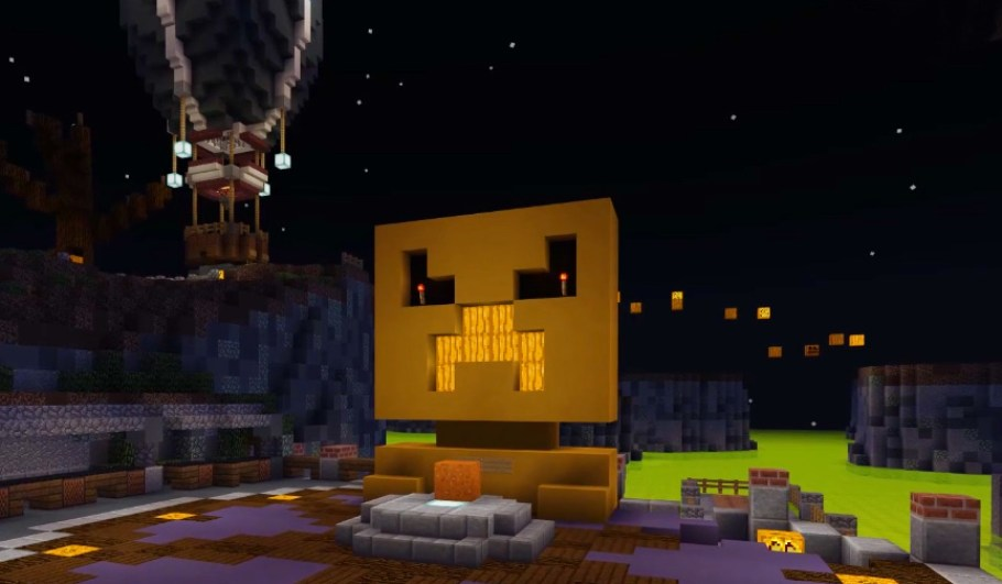 Image result for minecraft spooktacular event