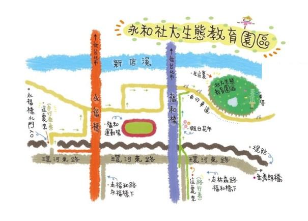 園區交通位置手繪圖