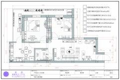 CAD專業工程製圖2D室內設計成果發表-03黃雪菁