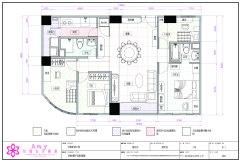 CAD專業工程製圖2D室內設計成果發表-06張玫君
