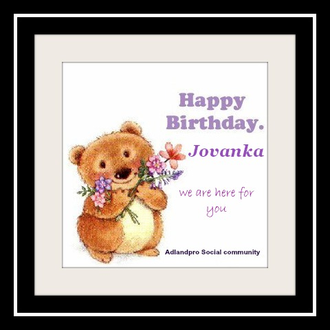 Friday news roundup happy birthday Jovanka