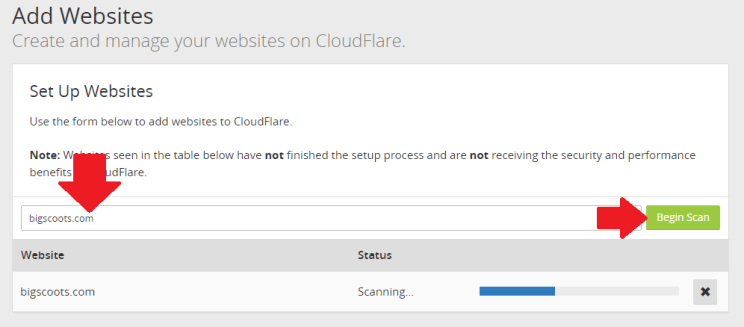 How to Setup CloudFlare for your BigScoots Hosting Service