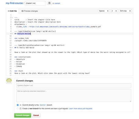 how to change repository name in github