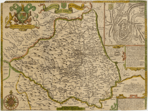 The bishoprick and citie of Durham. John Speed (1552?-1629), from an edition dated between 1713 and 1743. © Durham University Library (http://valentine.dur.ac.uk/pip/iwspip.asp?img=m0069&ref1=41)
