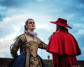 The Bone Queen and the Cardinal. Photo credit: Michael Baker