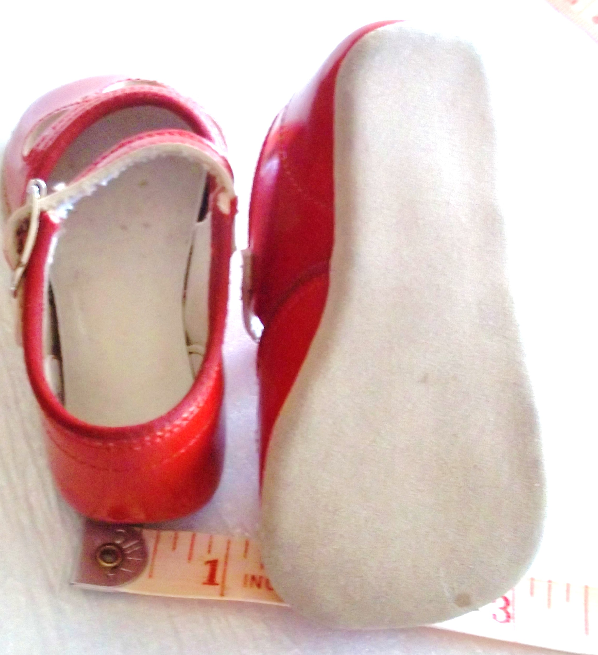 Doll Vintage Antique Shoes