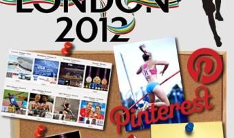 Infografia Juegos Olimpicos London 2012 en Pinterest Community Internet Enrique San Juan Cursos y servicios de Redes Sociales Social Media
