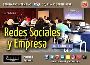 Seminario redes sociales panama sept 2016 enrique san juan