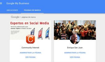 como administrar las paginas de empresa en google plus enrique san juan community internet seminarios social media redes sociales marketing digital