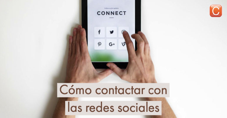 como contactar con las redes sociales community internet