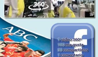 ABC se inicia con Facebook Video 360º
