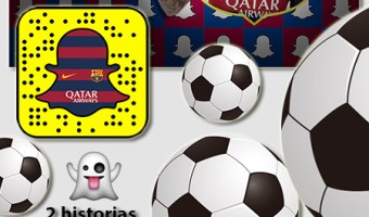 infografia Barca Snapchat analisis community internet the social media company