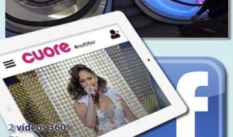 Cuore traslada la moda y el corazón a Facebook Video 360º