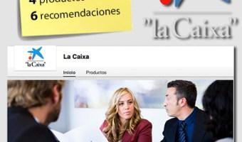 infografia La Caixa Linkedin community internet the social media company redes sociales community manager