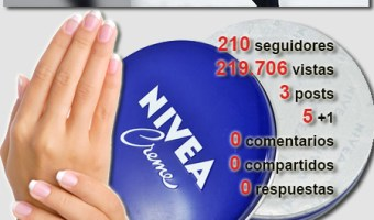infografia Nivea Google Plus community internet the social media company